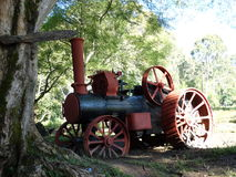 Steam Tractor Stock Image