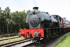 Steam Train. Royalty Free Stock Images