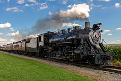steam train stock photo
