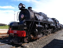 Steam Train. Antique Classic Steam Train In New Zealand stock images