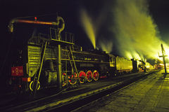 Steam train Royalty Free Stock Photos