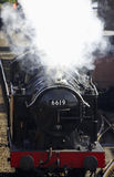 Steam train 6619. Severn valley railway, bewdley, uk royalty free stock photos