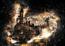 Free Steam Train. Royalty Free Stock Photo - 86077265