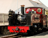 Steam Train Aberystwyth Wales Royalty Free Stock Photos