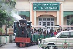 The Steam Train Stock Image