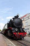 Steam train at Bad Doberan Stock Images