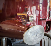 Steam train buffer close up Royalty Free Stock Photo