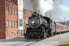 Steam train from Chattanooga, TN to Summerville, GA Royalty Free Stock Photography