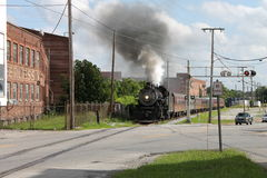 Steam train from Chattanooga, TN to Summerville, GA Royalty Free Stock Photo