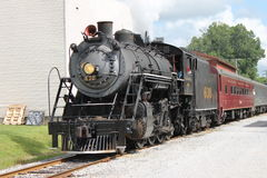 Steam train from Chattanooga, TN to Summerville, GA Royalty Free Stock Images
