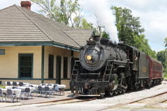 Steam train from Chattanooga, TN to Summerville, GA Royalty Free Stock Image