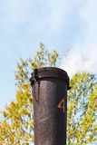 Steam train Chimney Royalty Free Stock Images