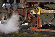 Steam train detail Stock Image