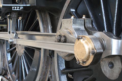 Steam train details Royalty Free Stock Images