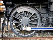 Steam Train Drive Wheel Detail royalty free stock photo
