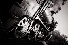 Steam Train at Dusk Stock Photos