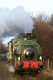 Steam train at the Elsecar Heritage Center Royalty Free Stock Photos