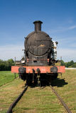 Steam train engine Royalty Free Stock Photos