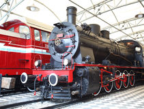 Steam train engine Royalty Free Stock Images