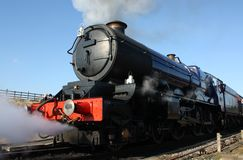 Steam train engine Royalty Free Stock Image