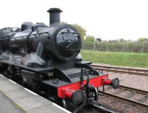 Steam Train Engine. Royalty Free Stock Photo