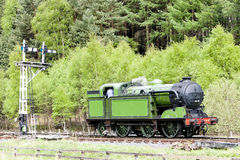 Steam train, England Royalty Free Stock Images