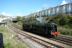 Steam Train The Great Britainix in Plymouth Royalty Free Stock Image