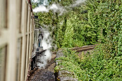 Steam train HDR Stock Photo