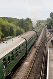 Steam Train Heading to Swanage Royalty Free Stock Images
