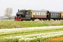 Steam Train, Hoorn - Medemblik, Noord Holland, Netherlands Stock Image