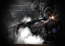 Steam Train, Locomotive, Ancient Royalty Free Stock Photo