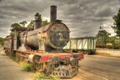 Steam Train Locomotive Royalty Free Stock Image