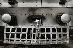 Steam Train Locomotive. Old steam train locomotive, New Delhi, India Royalty Free Stock Photography
