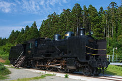 Steam Train. Made in Japan Royalty Free Stock Photography