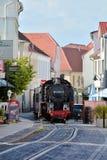 The steam train Molli Stock Image