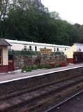 Goathland train station stock photo