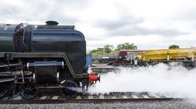 Steam Train Side Shot royalty free stock photo