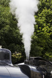 Steam Train in siding at Oxenhope Railway Station on Keighley and Worth Valley Railway. Yorkshire, England, UK, Stock Photos
