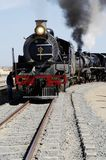 Steam train at Swakopmund, Namibia Stock Photos
