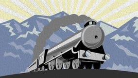 Steam Train Traveling Video
