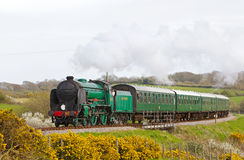 Steam train trip Stock Image