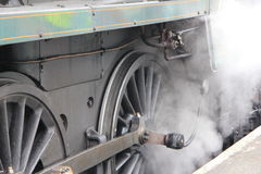 Steam Train Wheel Stock Photos
