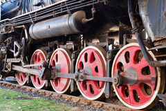 Steam train wheel Royalty Free Stock Image