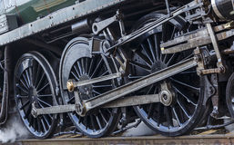 Steam Train Wheels Abstract Stock Photo