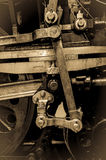 Steam Train Wheels - Piston and Connecting Rods Stock Photography