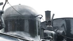 Steam train whistle royalty free stock images