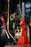 Steam train works Stock Photos