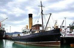"Steam Tug"" Lyttleton"" Royalty Free Stock Image"