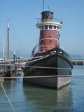 Steam Tug, San Francisco Royalty Free Stock Photos