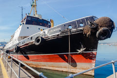 Steam Tug Vessel Museum Wharfside Royalty Free Stock Images